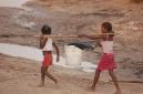 Bocachica girls carrying