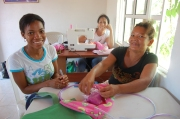 Talleres purses sewing