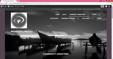 Community Development Ministries page