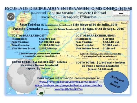 Afiche EDEM Bocachica-Africa