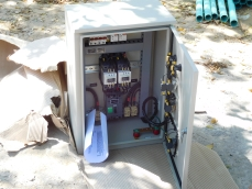 Electric breaker box for our generator.
