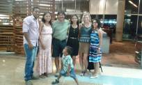 Saying goodbye to short-term volunteer, Ricarda, from Germany, and the Cruzate's.